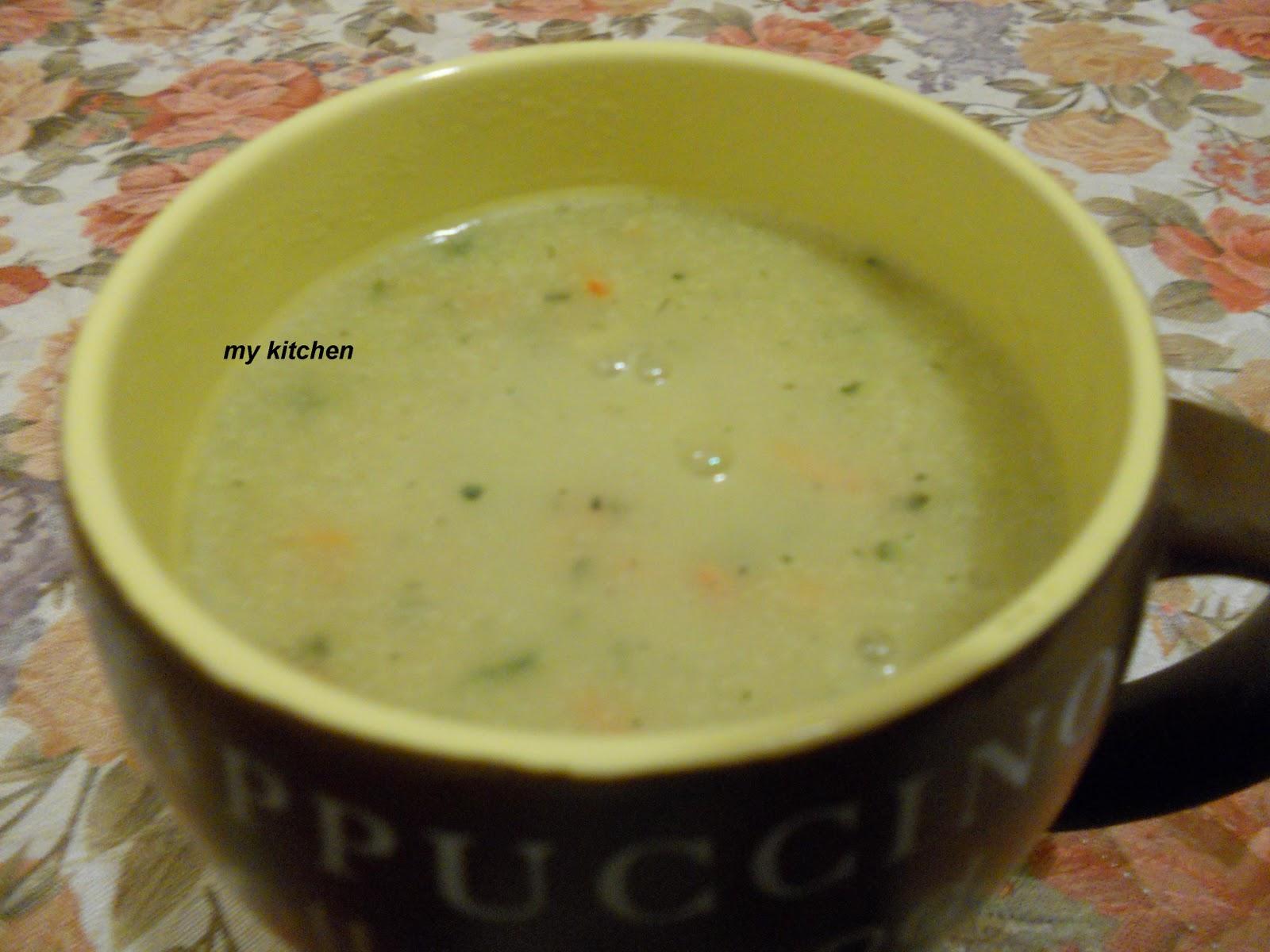 """Kрем супа """"8 зеленчука"""""""