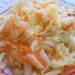 Салата от зеле и моркови
